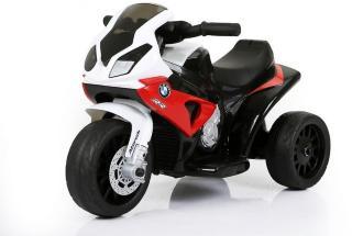 0 BMW EL-MOTORSYKKEL LISENS 6V FOR BARN