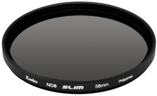 Kenko ND-filter ND8 slim 62mm