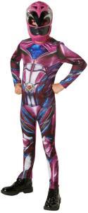 RubiesUK Power Rangers: Pink Ranger Barnekostyme - Power Rangers-kostymer