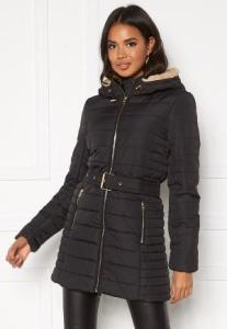 ONLY Shelly Hooded Coat Black L