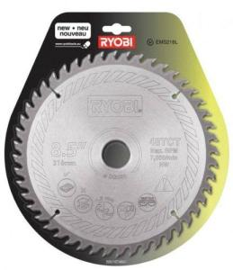 Sagblad for tre RYOBI 216x1,8x30,0 mm Z48