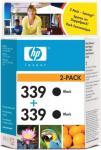 HP Blekkpatron No.339 Sort 2stk (2x21ml) C9504EE (Kan sendes i brev)