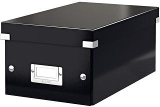 LEITZ Storage Box Click & Store DVD Black (6042-00-95*1)