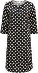 Saint Tropez Kjole Mega Dot Dress Women Black