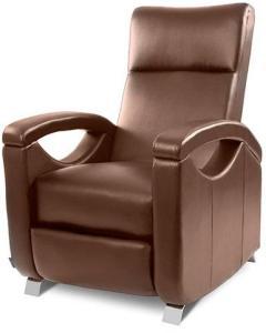Avslappende massasjestol - brun