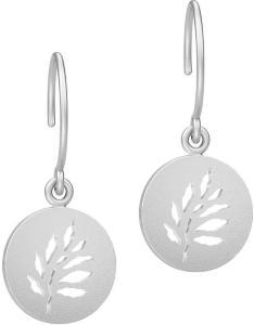 Julie Sandlau Signature Earring - Rhodium Øredobber Smykker Sølv Julie Sandlau Women