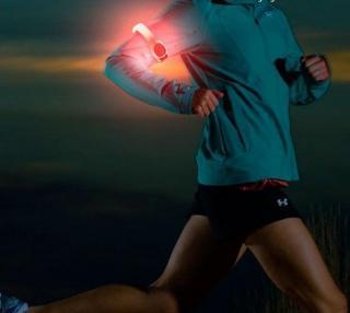 Løpebånd med LEDlys