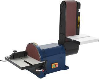 vidaXL Belte- og skivesliper 550 W 200 mm