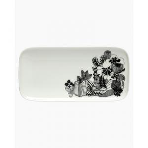 Marimekko - Oiva/Siirtolapuutarha plate 12x 24,5 cm