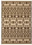 vidaXL Teppe sisal-aktig innendørs/utendørs 120x170 cm etnisk design