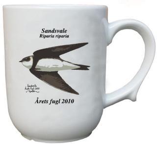 Sandsvale krus Årets fugl 2010