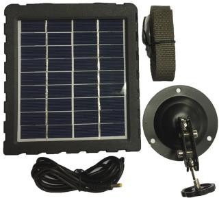 Brecom solcellepanel viltkamera