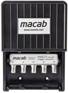 Macab 4-veis Hi-iso DiSEqC v2.0