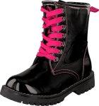Wildflower Flowie Black, Sko, Boots, Varmforet boots, Svart, Barn, 25