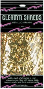 Beistle Gullfargede Metalltråder - Festartikler