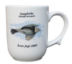 Sanglerke krus Årets fugl 2005