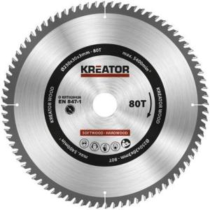 Kreator Sagblad for sirkelsag 80 tenner - Ø250 mm