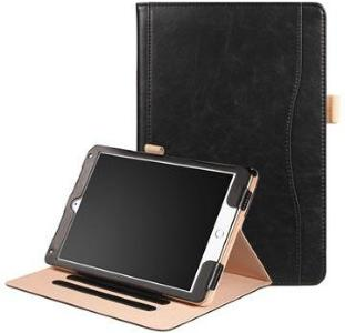 Retro Smart Folio-etui - iPad 9.7, iPad Air 2, iPad Air - Svart