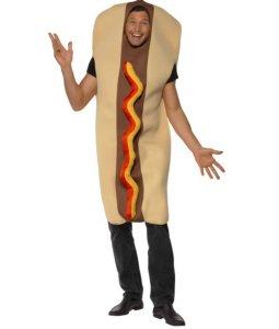 Pølse i brød kostyme