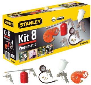 Kompressorsett til maling og blåsing Stanley 9045671STN