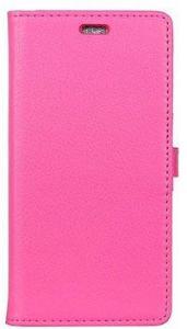 Huawei Mate 10 Lite Textured Lommebok-deksel - Varm Rosa