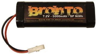 Bronto 7.2V 5000mAh - Bronto SP - Ni-Mh - Tamiya plugg