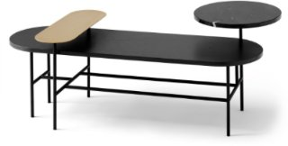 Palette Table Black HJ7 &tradition &tradition