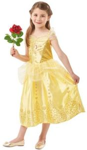 Disney Princess Belle Klänning Maskeraddräkt Barn Inget (Storm)