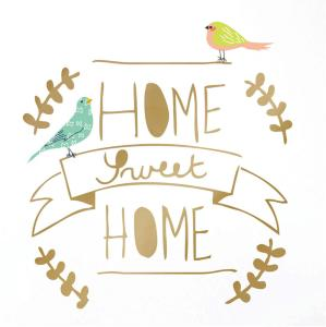 Mimilou Wallsticker Home Sweet Home