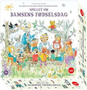 Spillet om Bamses Fødselsdag Brettspill Norsk utgave - fra Hakkebakkeskogen