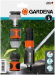 GARDENA Sprøytemunnstykke + koblinger 5 deler