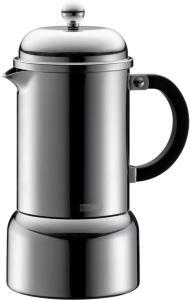 Bodum CHAMBORD Espressobrygger 6 kopper, 0.35 l, indu