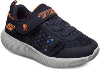 Skechers Boys Dyna-Lights Sneakers Sko Blå Skechers