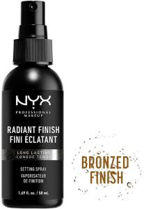 Radiant Make-Up Setting Spray,  NYX Professional Makeup Setting Spray