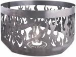 Esschert Design Gnistfanger for bålpanne grå stål FF415
