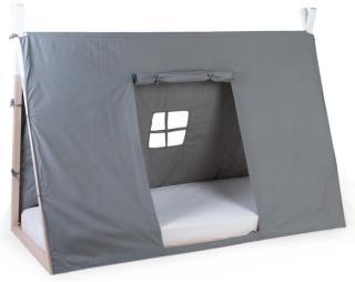 CHILDHOME Tipitrekk til seng 90x200 cm grå