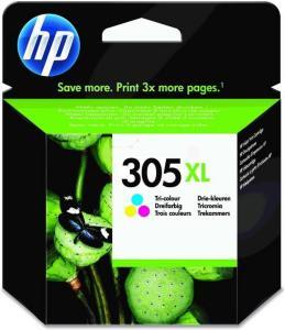 HP Blekkpatron Farge 305XL (200 sider) 3YM63AE