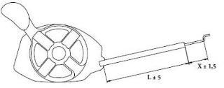 Reguleringsvaier Stiga Turbo Excel 55SB