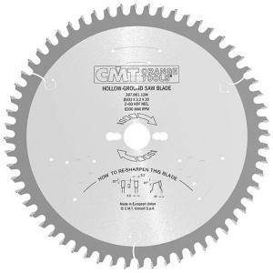 Sagblad for tre CMT 250x3,2x30 Z48 -6°