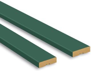Dekklist 2-Pak Grønn 12X42X2200Mm