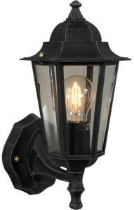 Elektro-Armatur Kristiansand utelampe vegg opp grønnpat. 3103190000 Taklampe / Vegglampe