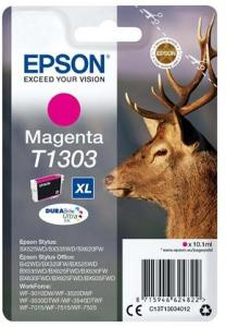 Epson T1303 - Størrelse XL - magenta - original - blækpatron - Blekkpatron Rød C13T13034022