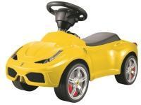 Ferrari 458 Gåbil m/lædersæde, Gul