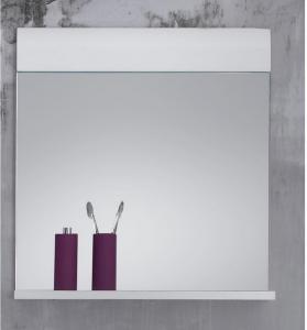 Bellman Speil 60 cm - Hvit/Hvit Høyglans
