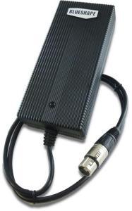 Blueshape 3 Pin XLR Strøm Adapter 3Pin Power Adapter
