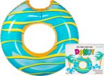 Pool Float Giant Donut Blue Frosting