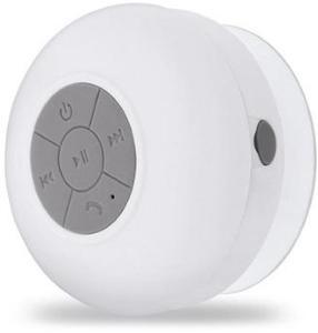 Forever BS-330 Vanntett Bærbar Bluetooth-høyttaler - Hvit