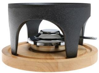 Varmestativ til fondue, Støpejern, Gense Inget (Storm)