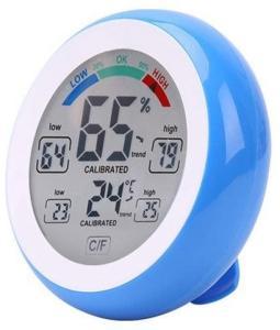 Digitalt Termometer med Luftfuktighet / Hygrometer