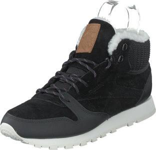 Reebok Classic Cl Lthr Arctic Boot Black/purple/chalk/brown, Sko, Sneakers og Treningssko, Høye Sneakers, Brun, Grå, Dame, 41